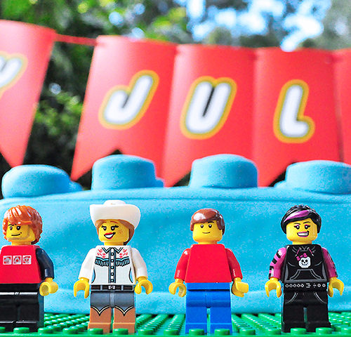 July LEGO Themed Birthday Party by A&K