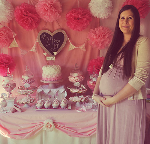 Nicole's Vintage Fairytale Pink Baby Shower by A&K