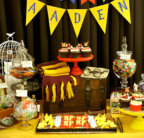 Aaden's Harry Potter Themed 1st Birthday Party by A&K