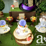 Click image to see more photos from Jessie's Mad Hatter Tea Party Baby Shower