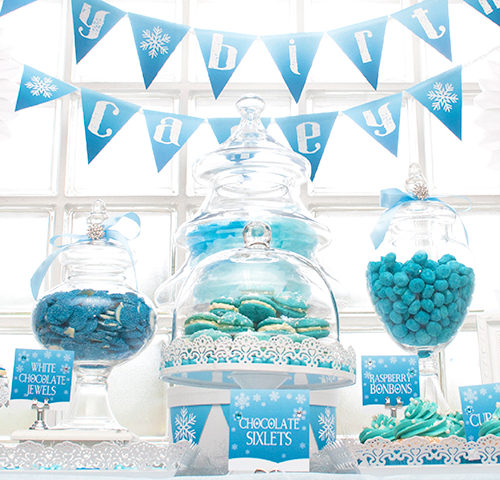 Casey's Frozen themed 7th Birthday Party by A&K Lolly Buffet
