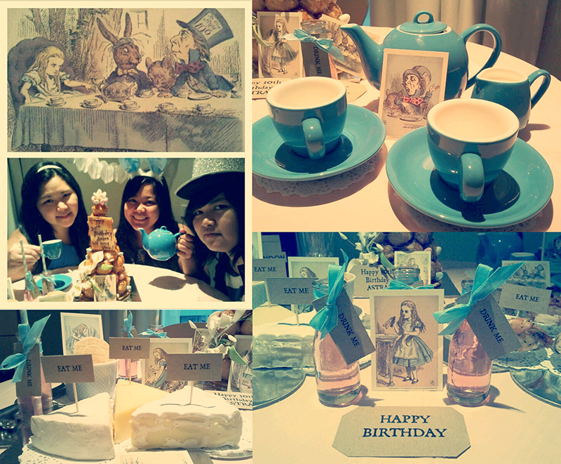 Alice in Wonderland inspired Tea Party by A&K