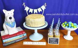 "A small & simple ""Favourite Things"" Dessert Table by A&K."