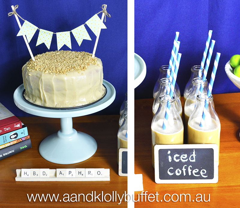 """A small & simple """"Favourite Things"""" Dessert Table by A&K."""