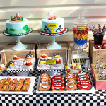 Alex & Max's Disney CARS Birthday Dessert Buffet by A&K