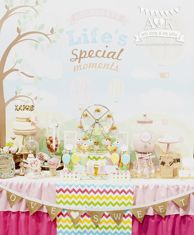 A&K's Dessert Table Showcase at the Cake Bake & Sweets Show 2014