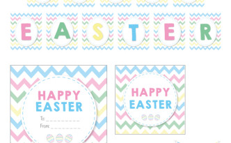 Free Easter Printables by A&K Lolly Buffet