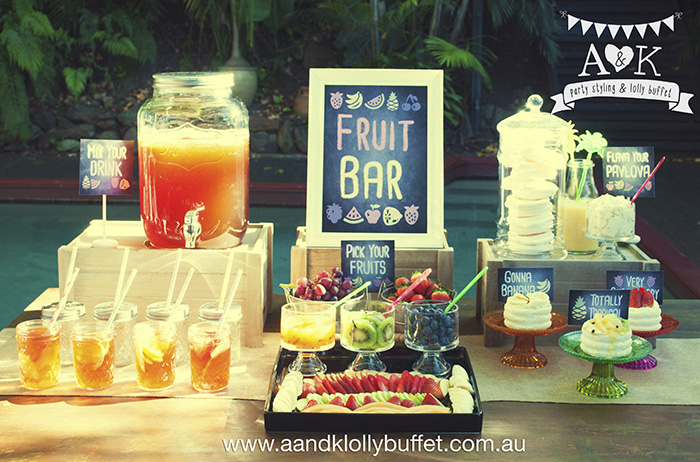 Funky Fruit Bar & Drink Station by A&K.