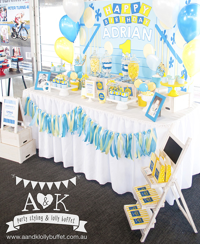 Adrian's Bananas in Pyjamas Themed Dessert Buffet by A&K.