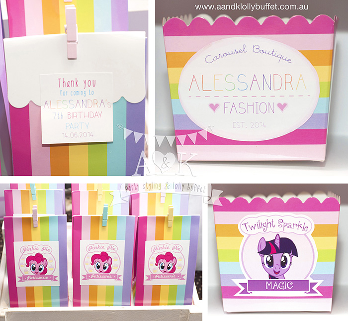 Alessandra's My Little Pony 7th Birthday Party by A&K