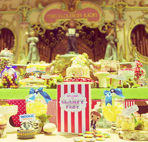 Clare & Arfy's Wedding Festival by A&K Lolly Buffet