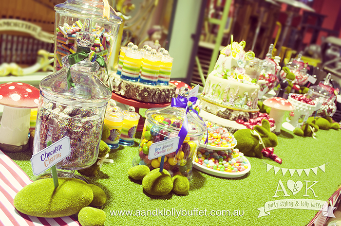 Clare & Arfy's Wedding Festival Dessert Buffet by A&K.