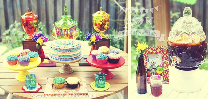 Mexican Fiesta Birthday Party by A&K
