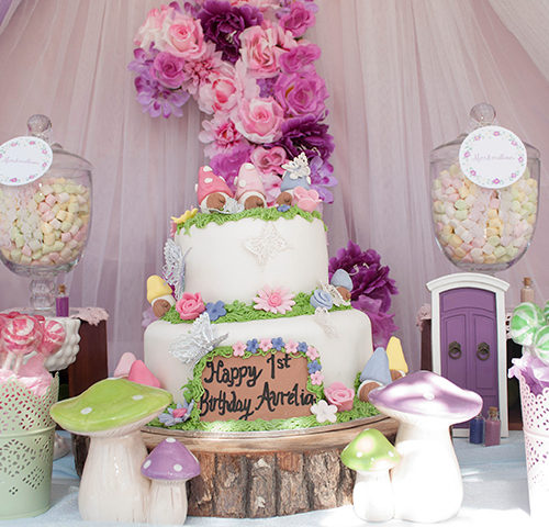 Aurelia's Fairy Woodland 1st Birthday by A&K Lolly Buffet