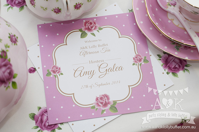 A&K's First Anniversary Afternoon Tea Giveaway