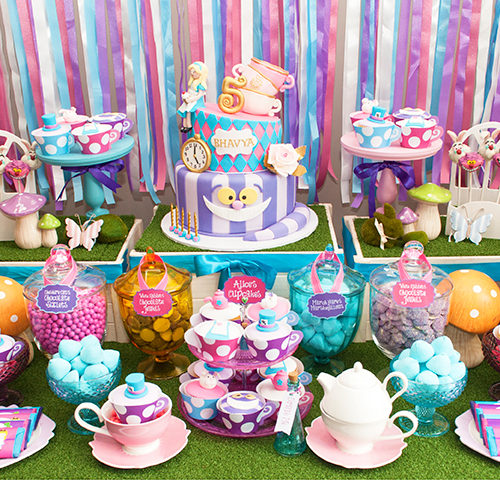 Bhavya's Mad Hatter's Birthday Party by A&K