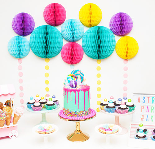 Astra's Sweet Pastel Birthday Party by A&K