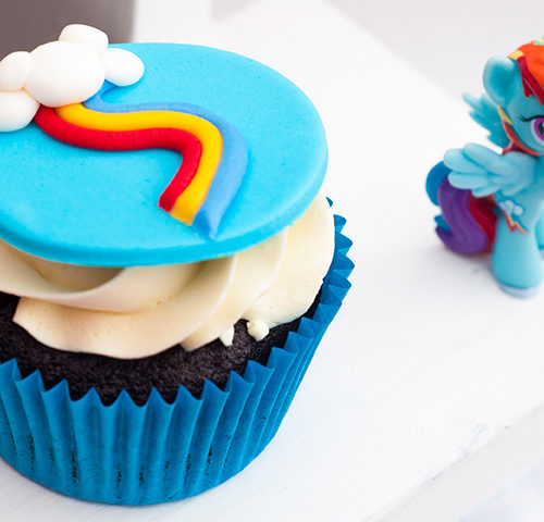 Scarlett's Rainbow Dash 5th Birthday Party by A&K