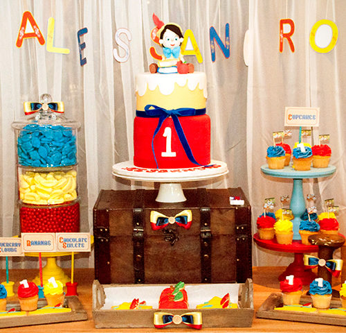 Alessandro's Vintage Rustic Pinocchio 1st Birthday Party by A&K