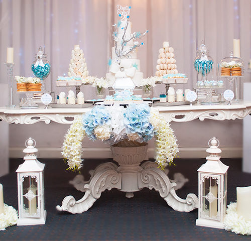 Winter Wonderland 21st Birthday Party by A&K