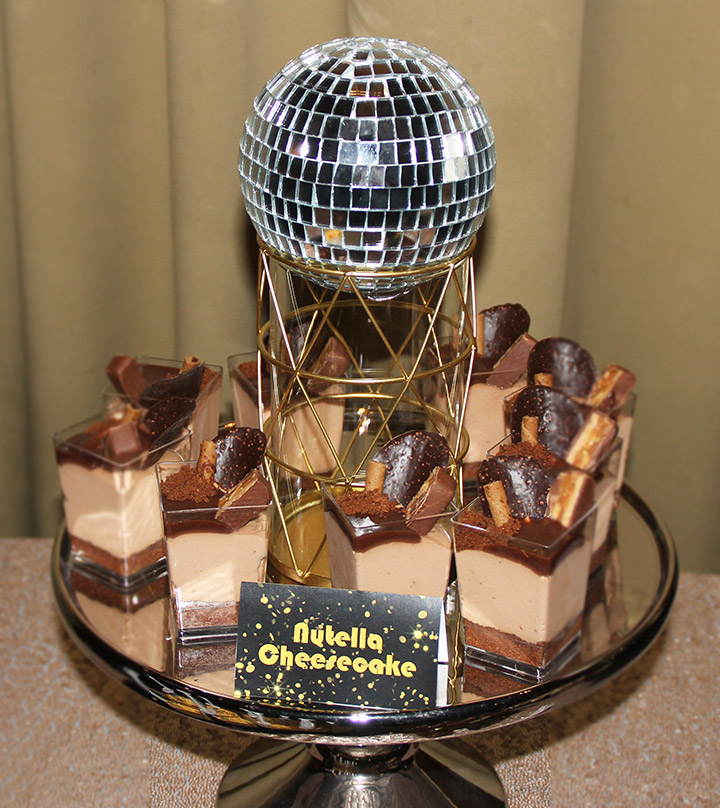 Nick's Black & Gold Disco themed 40th Birthday Party