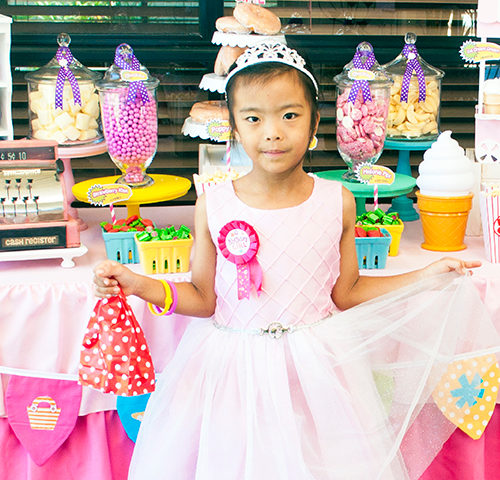 Mika's Shopkins inspired 6th Birthday party by A&K