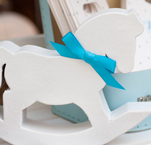 Jaxan's Baby Blue Baptism Lolly Buffet by A&K