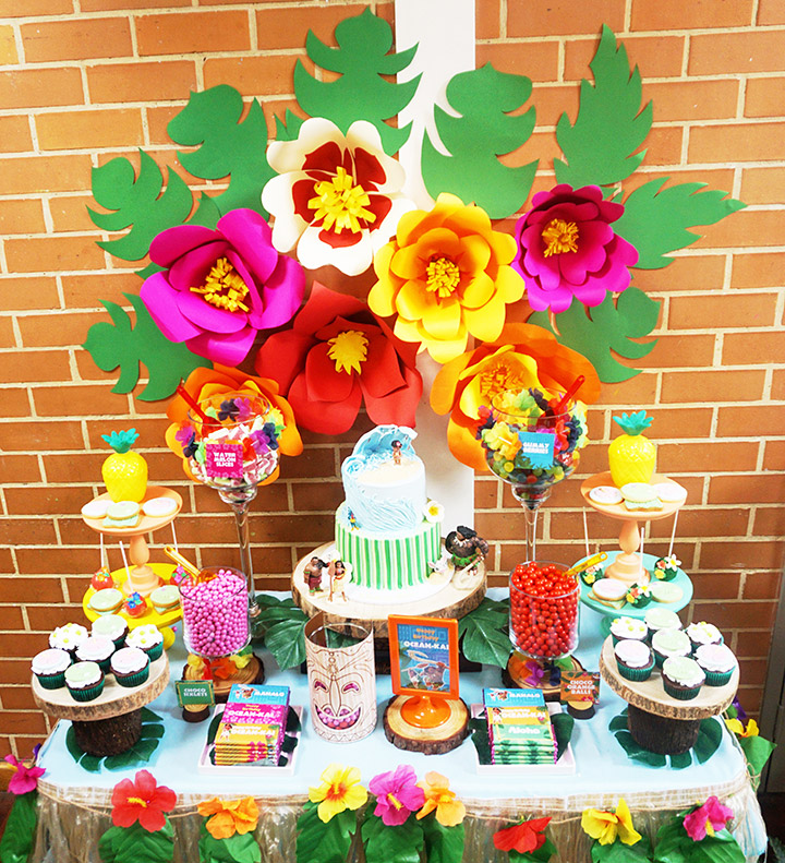 Ocean-Kai's Moana themed 3rd Birthday Party by A&K Lolly Buffet