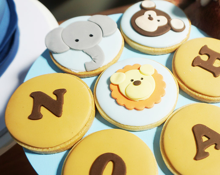Noah's Ark 1st Birthday Party by A&K Lolly Buffet
