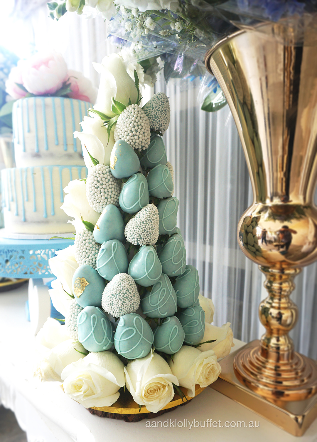 Lauren's Rustic Chic Baby Shower by A&K Lolly Buffet